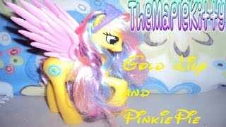 Princess Gold Lily and PinkiePie Rainbow Power Review