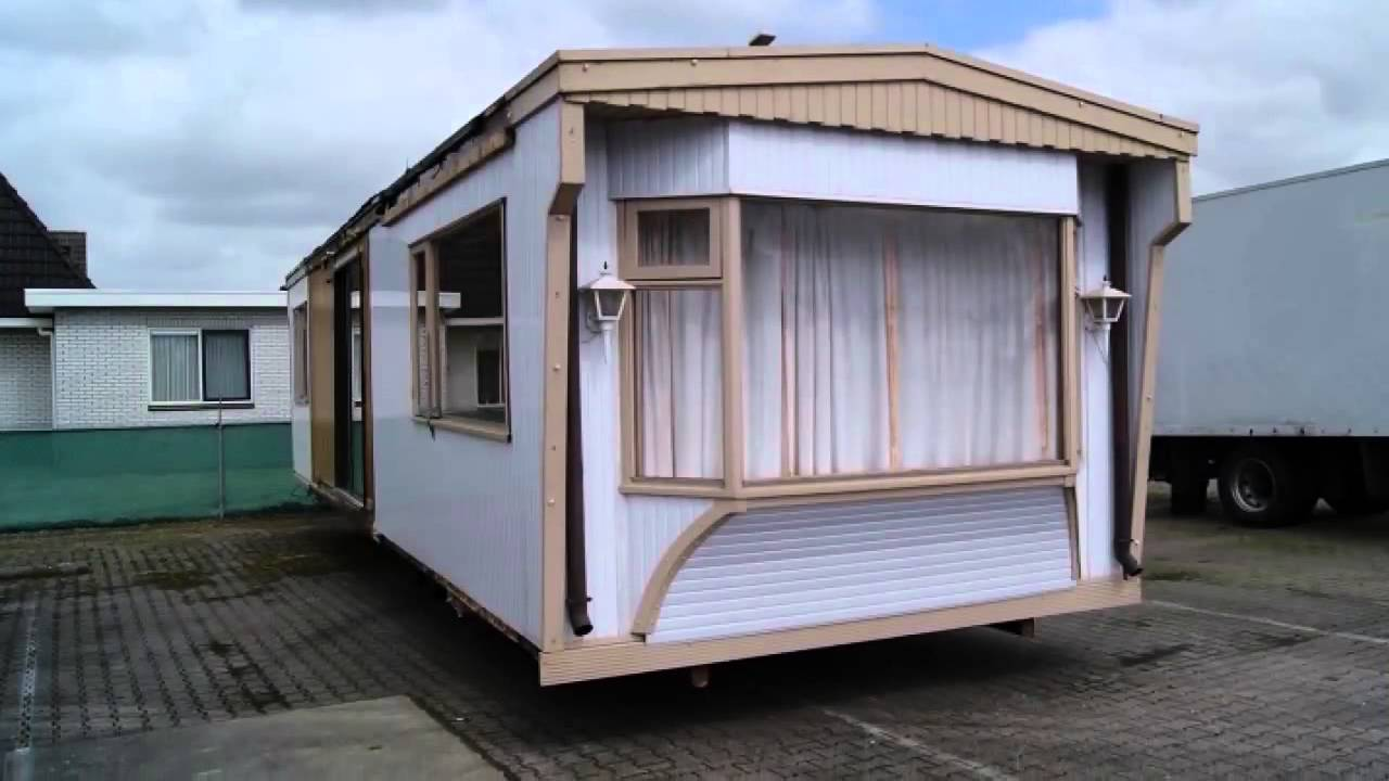 stacaravan chalet te koop chalet pvc youtube. Black Bedroom Furniture Sets. Home Design Ideas