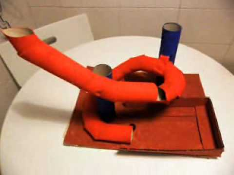 Proyecto tecnolog a 1 eso tobog n de papel cart n y - Cola para papel ...