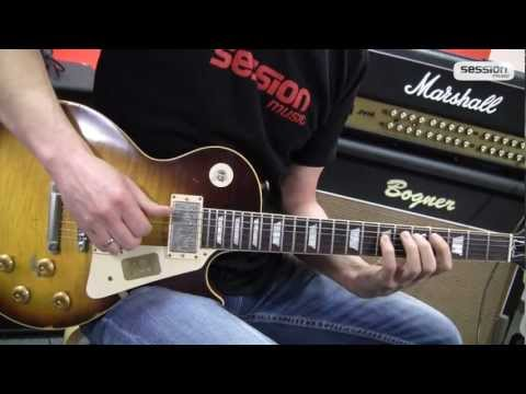 Gibson Les Paul 1959 Joe Perry Aged Faded TB