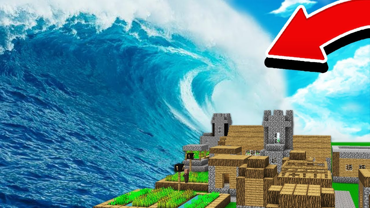 10 CRAZIEST MINECRAFT STORMS! (TSUNAMI, TORNADOES, METEORS, MORE!)