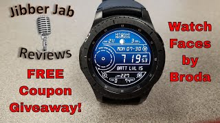 Samsung Gear Watch Faces by Broda - FREE Coupon Giveaway! - Jibber Jab Reviews!
