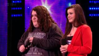 Jonathan & Charlotte Video - GREAT First audition ..Britain's Got Talent Audtions _ Jonathan & Charlotte