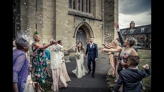 Maria & Greg - Photo-FILM - 21.07.18 - St Cuthberts Church Wells, Somerset