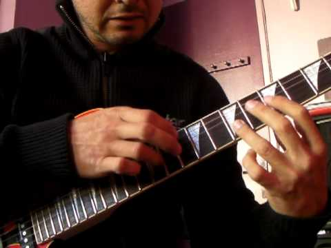 CRAZY 8 Fingers GUITAR TAPPING ( Steve Lynch style ) HD
