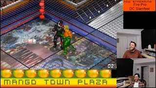 Aquaman vs Blackmanta - Fire Pro Wrestling World Ep. 25