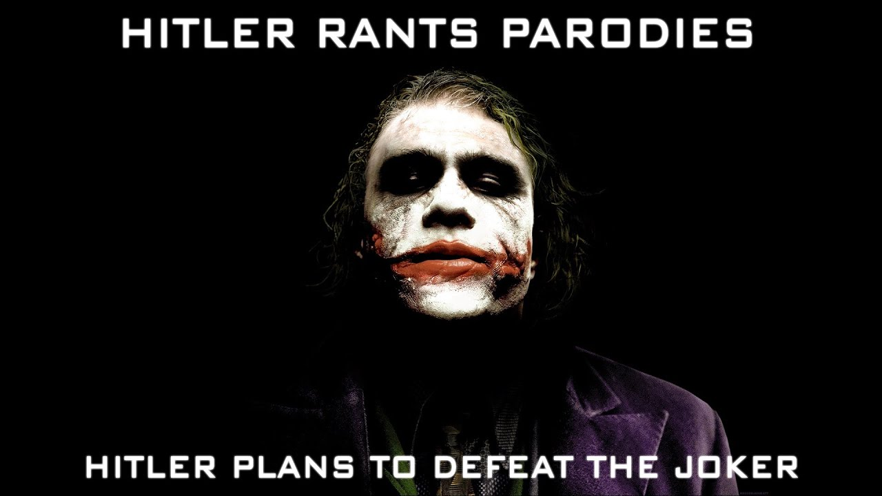 Hitler plans to defeat The Joker