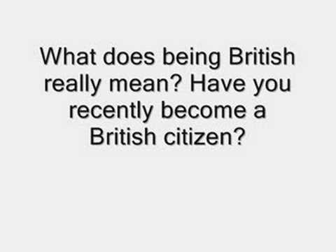 the meaning of britshness Motivation: what is britishness anyway 'britishness' a discussion of citizenship education and the ajegbo report 2009 essay revisited the report itself however is, perhaps unsurprisingly, vague on its own definition of britishness.