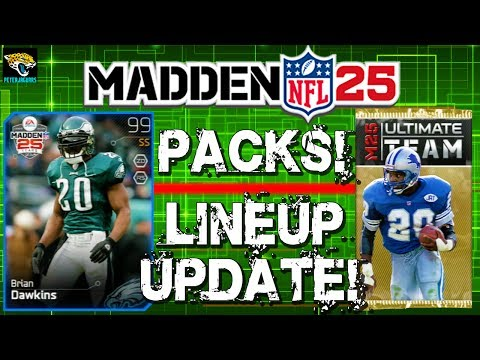 MUT 25 - Pack Opening + Lineup Upgrades! 99 Overall Player!