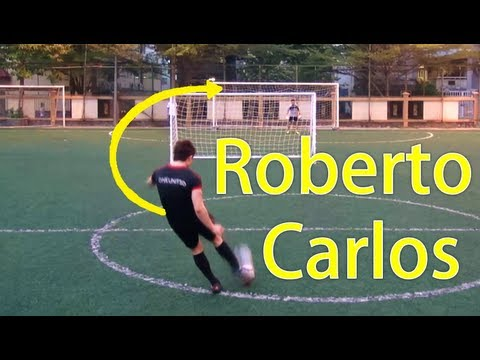 Roberto Carlos Freekicks