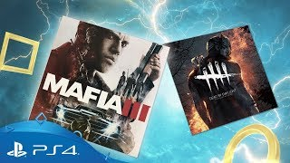 PlayStation Plus - August 2018 | Mafia 3 + Dead by Daylight | PS Plus Monthly Games