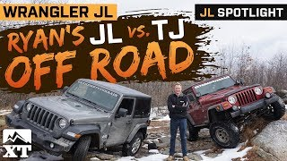Stock JL Vs Modded TJ Off Road | Can Ryan's Stock JL Keep Up With his Modded TJ - Throttle Out