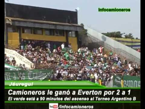 Primera Final Camioneros vs Everton por el Ascenso al Argentino B