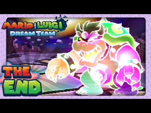 Mario & Luigi: Dream Team - Part 81 - Finale - Dreamy Bowser!