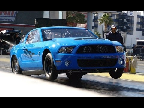 Team MMR Pro Mod, Outlaw and Drag Radial Modular Mustang Race Team Video 2012