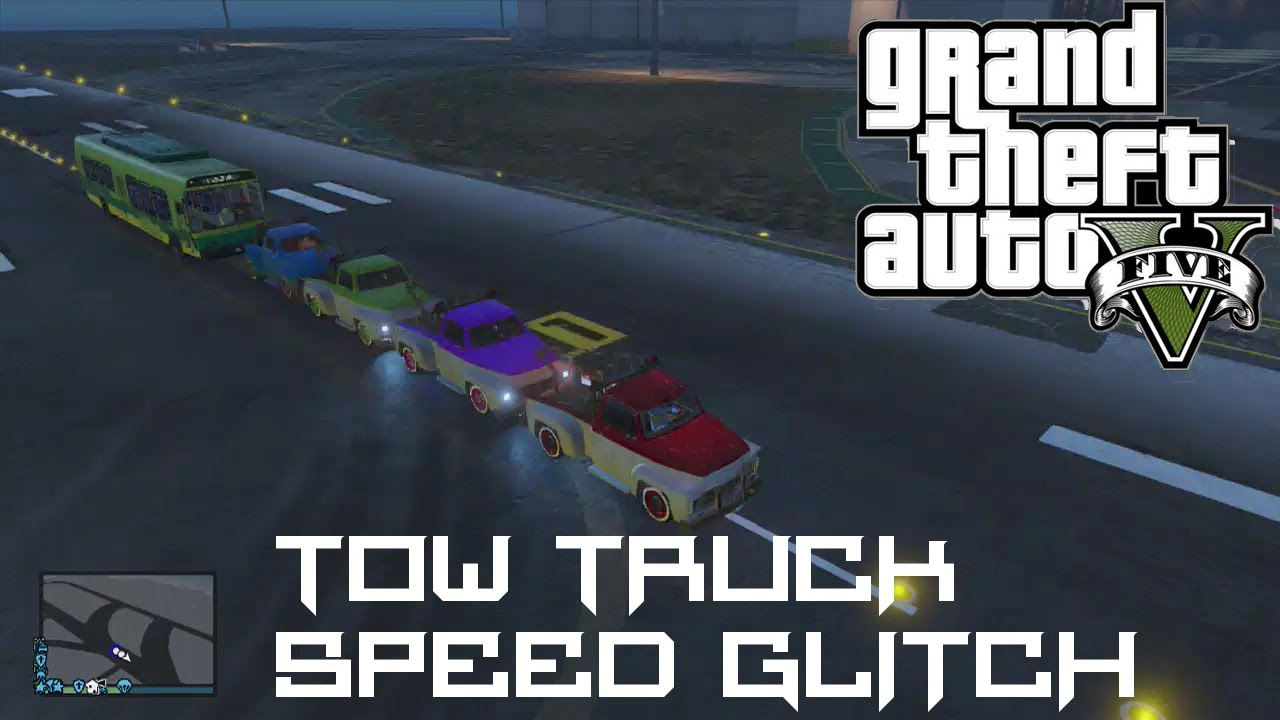 Tow Truck Location Gta 5 Online Gta 5 Online Tow Truck Speed