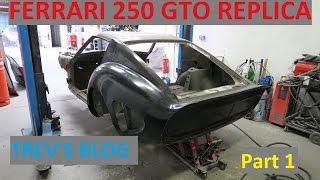 Ferrari 250 GTO Replica Build project Trev's Blog Part 1