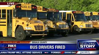 More school buses on roads on day 2 of sickout
