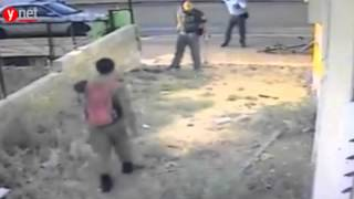 Zionist Police Officer Hit Ethiopian IDF Soldier in Racist Attack!