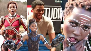 Black Panther Bloopers and Gag Reel - Full Outtakes 2018