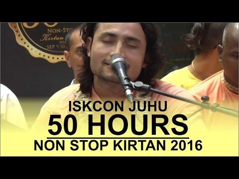 Hare Krishna Kirtan 2 by Mahabhagavat Prabhu on Day 3 of ISKCON Juhu 50 hours Non Stop Kirtan 2016