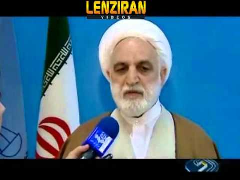 Mohseni Ejei  : I was not aware that Ahmadinejad is summoned to the court  !