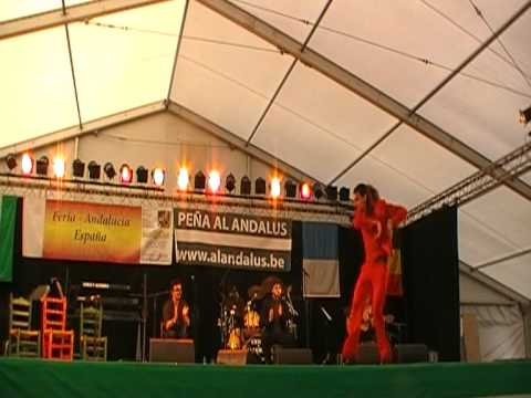 Feria Andaluza Boom (Amberes) 2010 - Compañia Luis Amador parte 1