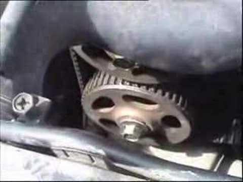 Ремонт и замена ремня ГРМ на Subaru Impreza. Видео