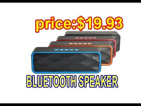 Wireless Bluetooth Speaker, ZOEE S1 Outdoor Portable Stereo Speaker,real gadgets review