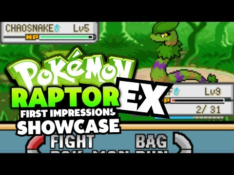 Pokemon Raptor EX - Pokemon Fan Game First Impressions/Showcase