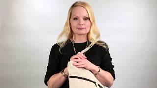"""Stockholm"" - Zen Organic Hemp Travel Tote Bag"