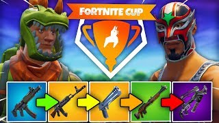 SHOCKWAVE GUN-GAME | Fortnite Mini-Game (Fortnite Cup week 2)