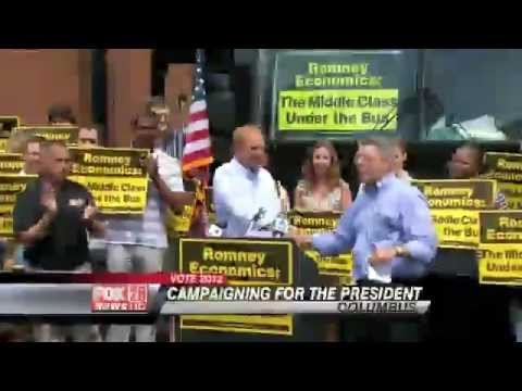 Romney Economics a Flop in Ohio DNC Bus Tour Shows