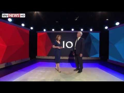 Kay Burley And Jeremy Paxman Host #BattleForNumber10