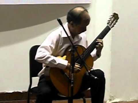 Orlando Perez interpreta Los Caujaritos de Ignacio Figueredo. Arreglo de Alirio Diaz