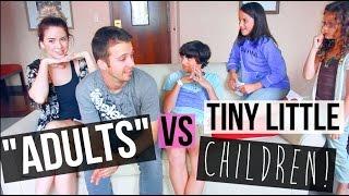 ADULT vs KID Challenge With Bratayley!!!