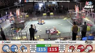 Quarterfinal 3 - 2017 Lake Superior Regional