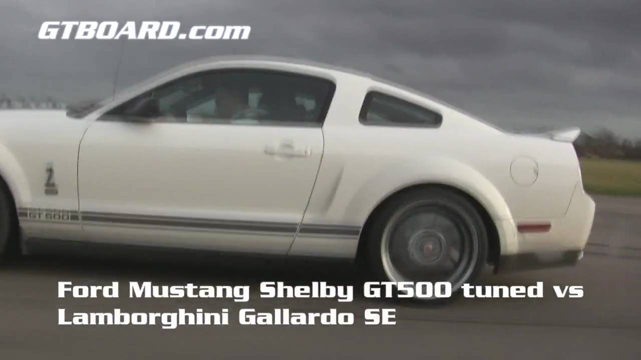 Hd Ford Mustang Shelby Gt500 Tuned 600 Hp Vs