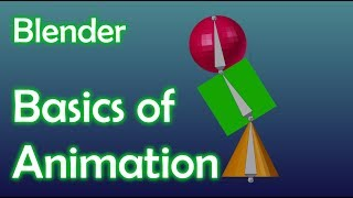 Blender Tutorial - Basics of Animation