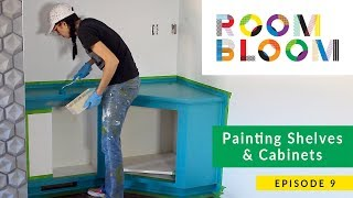 Painting Shelves & Cabinets | Room Bloom