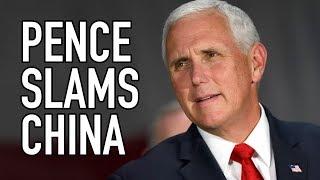 "US Vice President ""Defames China"" in ""Absurd"" Speech"