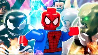 LEGO ULTIMATE SPIDERMAN VS SINISTER SIX (GREEN GOBLIN, VENOM, RHINO, DOC OCK, KRAVEN, ELECTRO)