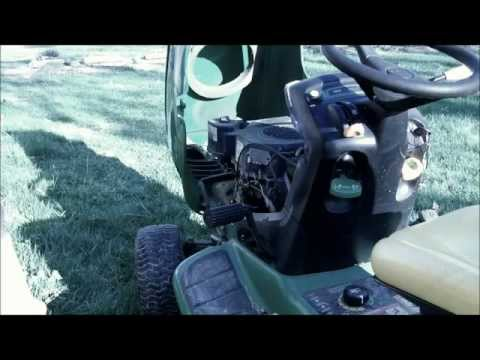 How to service your lawn tractor. Oil change. tune up. Spring Service.