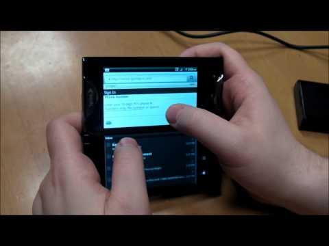 Kyocera Echo Video Review