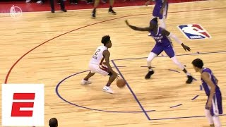 Collin Sexton goes off [25 pts, 7 ast, 4 rebs] in Cavs