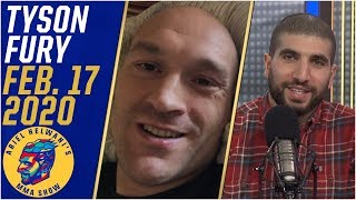 Tyson Fury on Deontay Wilder, WWE and life after boxing | Ariel Helwani's MMA Show