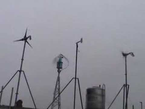 Micro Vertical Axis Wind Turbine Power System