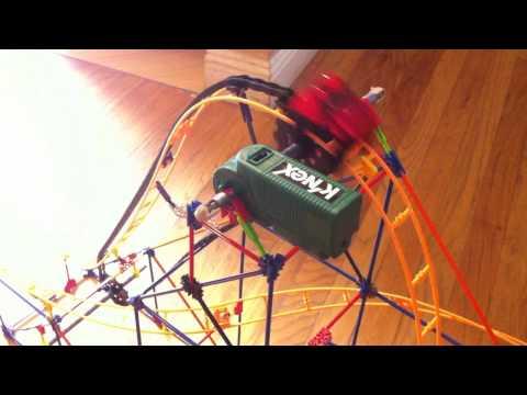 Nate's K'nex Corkscrew Coaster