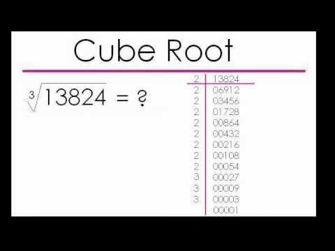 Mathematics For Kids Cube Root Long Division Sagar