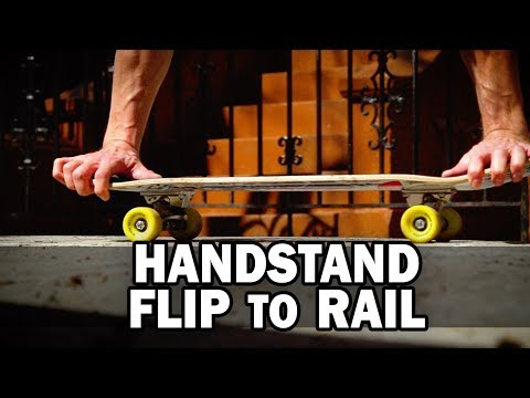 Handstand Flip to Rail: Kyle Matthew Hamilton || ShortSided